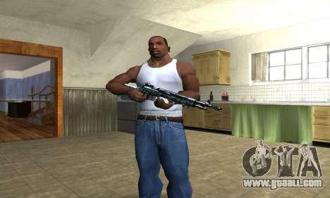 Green Forest Rifle for GTA San Andreas third screenshot