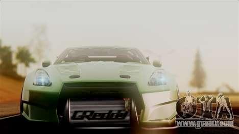 Nissan GT-R R35 Bensopra 2013 for GTA San Andreas