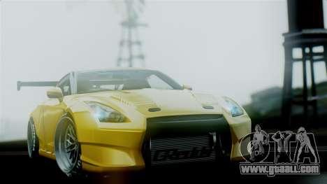 Nissan GT-R R35 Bensopra 2013 for GTA San Andreas inner view