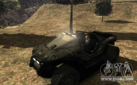 UNSC M12 warthog from Halo Reach for GTA 4 back left view