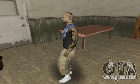 Rifa Skin Third for GTA San Andreas forth screenshot