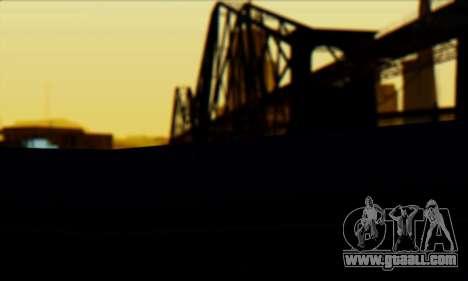 Smooth Realistic Graphics ENB 3.0 for GTA San Andreas seventh screenshot