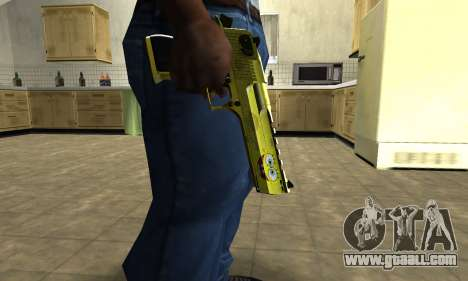 Sponge Bob Deagle for GTA San Andreas