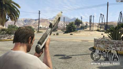 GTA 5 Halo UNSC: Assault Rifle sixth screenshot