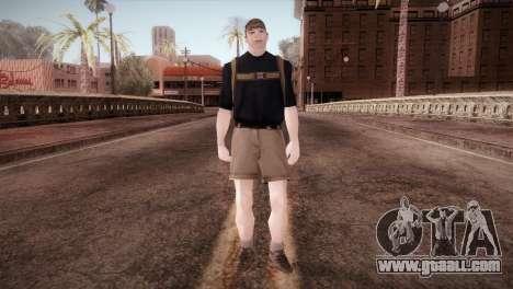 Schoolboy for GTA San Andreas second screenshot