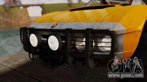 Coil Brawler Gotten Gains for GTA San Andreas wheels