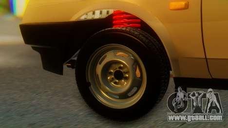 VAZ 21099 Stoke for GTA San Andreas back left view