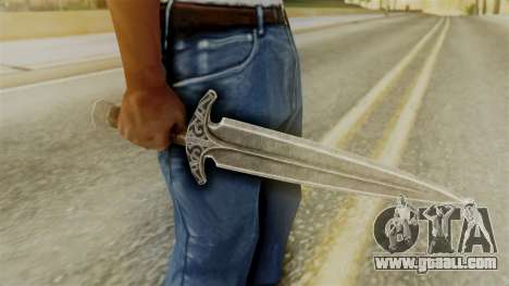 Steel Dagger for GTA San Andreas second screenshot