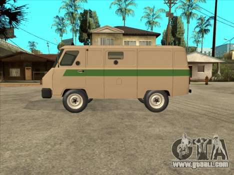 UAZ 1912 DIS Cash machine for GTA San Andreas left view