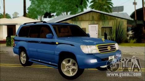 Toyota Land Cruiser 100 UAE Edition for GTA San Andreas