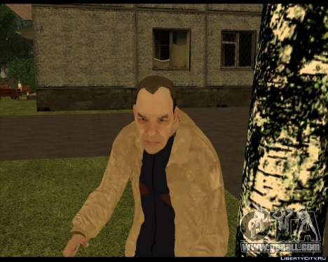 Homeless Compote for GTA San Andreas third screenshot