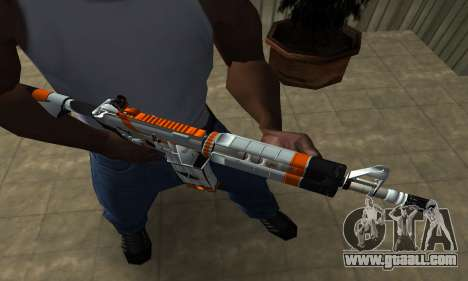 M4 Asiimov for GTA San Andreas second screenshot