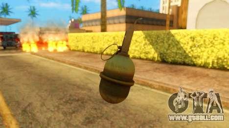 Atmosphere Grenade for GTA San Andreas third screenshot