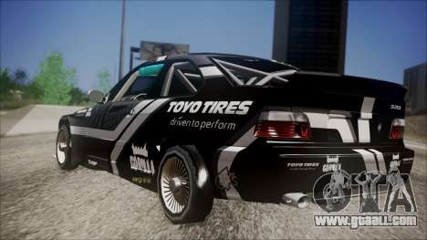 BMW M3 E36 GT-Shop for GTA San Andreas left view