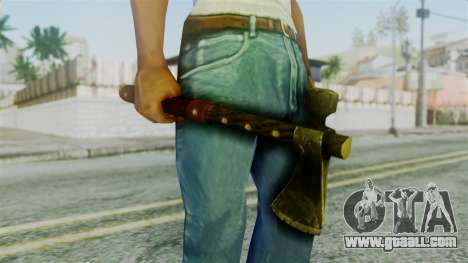 Tomahawk from Silent Hill Downpour for GTA San Andreas third screenshot