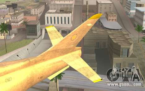 GTA 5 Besra for GTA San Andreas back left view