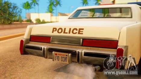 4-door Police Esperanto for GTA San Andreas right view