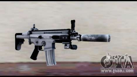 MK16 PDW Standart Quality v1 for GTA San Andreas