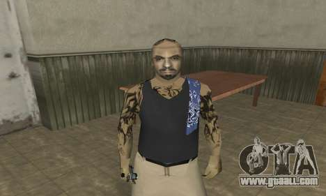 Rifa Skin Third for GTA San Andreas