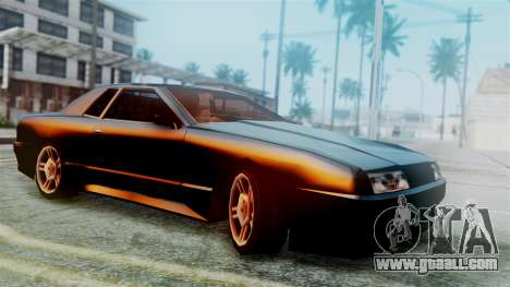 Elegy New Edition for GTA San Andreas back view