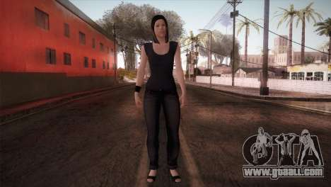 Mecgrl HD Model for GTA San Andreas second screenshot