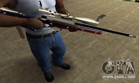 American Sniper for GTA San Andreas