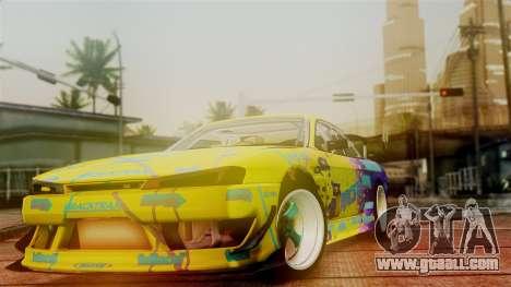 Nissan Silvia S14 Kouki Matt Faileds for GTA San Andreas right view