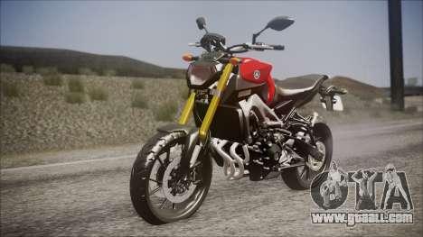 Yamaha MT-09 for GTA San Andreas