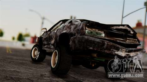 Post-apocalyptic Buffalo for GTA San Andreas left view