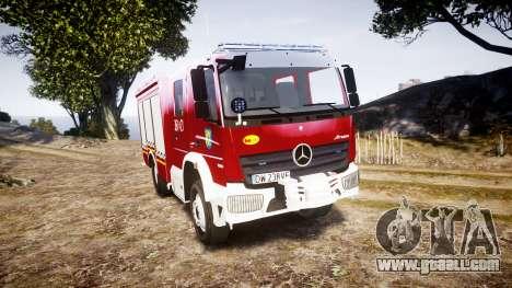 Mercedes-Benz Atego 1530 Firetruck [ELS] for GTA 4