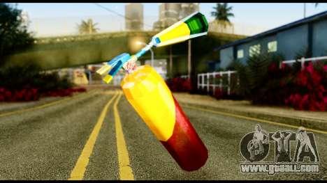 Brasileiro Fire Extinguisher for GTA San Andreas second screenshot