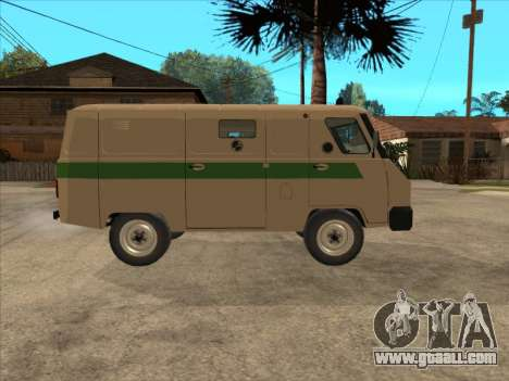 UAZ 1912 DIS Cash machine for GTA San Andreas right view