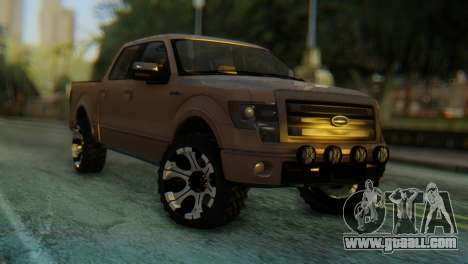 Ford F-150 2013 Work Hard for GTA San Andreas