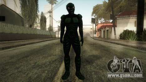 Green Goblin Skin for GTA San Andreas second screenshot