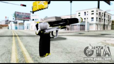 USP-S Torque for GTA San Andreas second screenshot