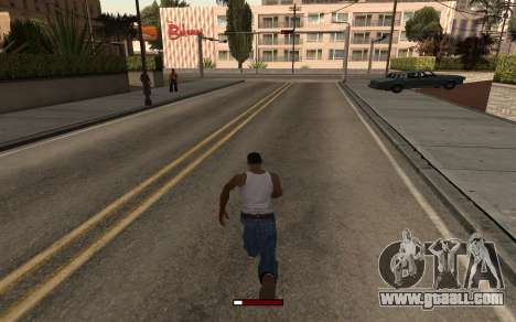 SprintBar for GTA San Andreas