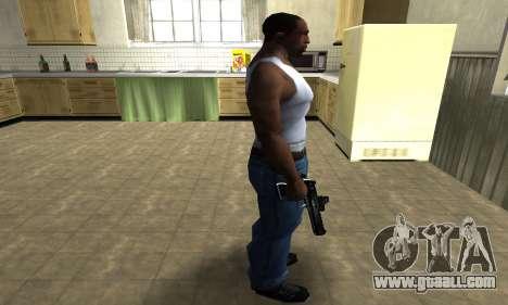 Blue Deagle for GTA San Andreas third screenshot