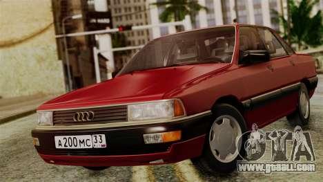 Audi 200 Quattro for GTA San Andreas