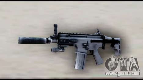 MK16 PDW Standart Quality v2 for GTA San Andreas