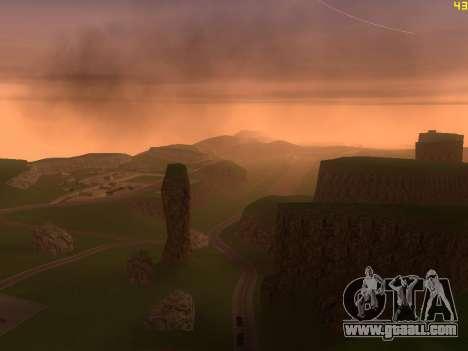 Green desert Las Venturas v2.0 for GTA San Andreas fifth screenshot