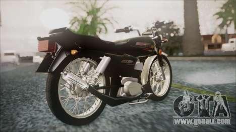 Suzuki AX 100 for GTA San Andreas left view