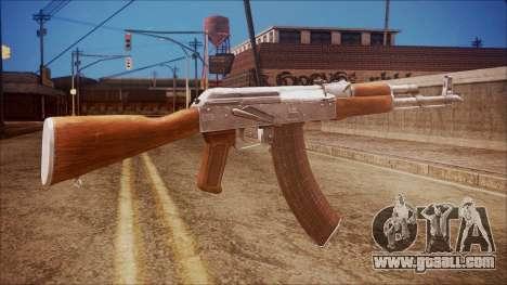 AK-47 v7 from Battlefield Hardline for GTA San Andreas second screenshot