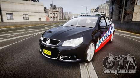 Holden VF Commodore SS Highway Patrol [ELS] for GTA 4