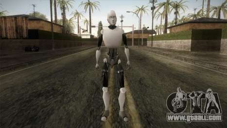 I am a Robot Skin for GTA San Andreas second screenshot