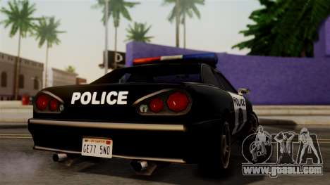 Police Elegy for GTA San Andreas left view