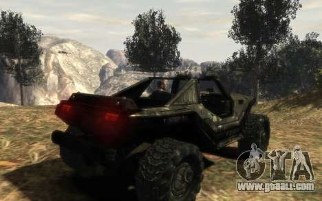 UNSC M12 warthog from Halo Reach for GTA 4 left view