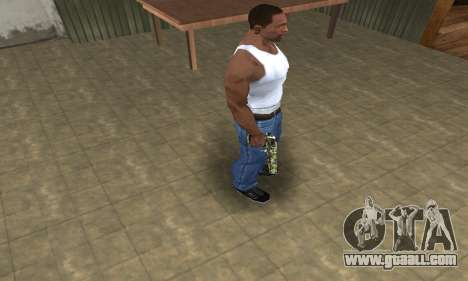Lable Deagle for GTA San Andreas third screenshot