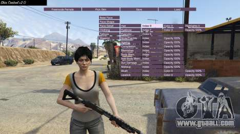 GTA 5 Skin Control 2.0 second screenshot