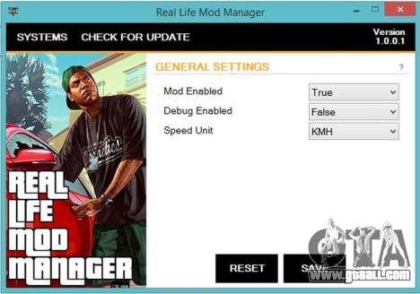 Real Life Mod 1.0.0.1 for GTA 5