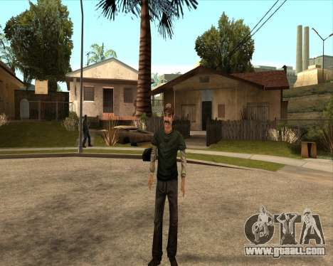 Kenny from Walking Dead for GTA San Andreas third screenshot